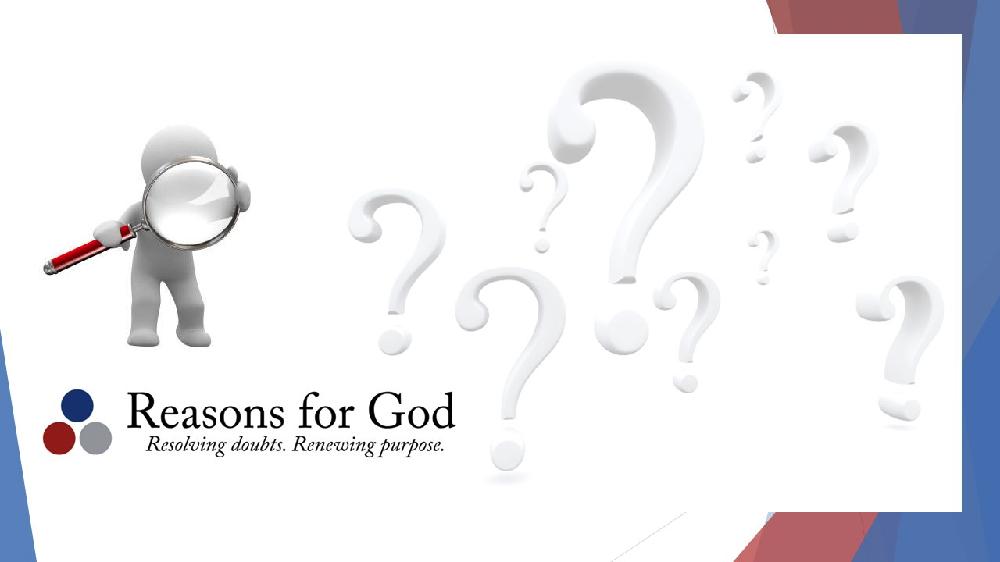 Reasons For God