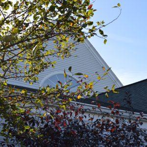 Crosby Community Church Window Front