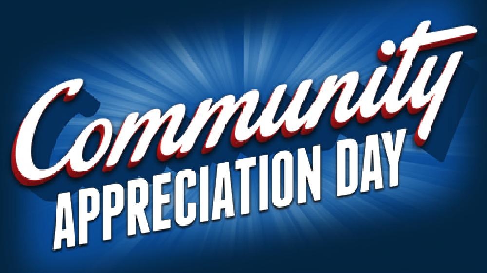 Community Appreciation