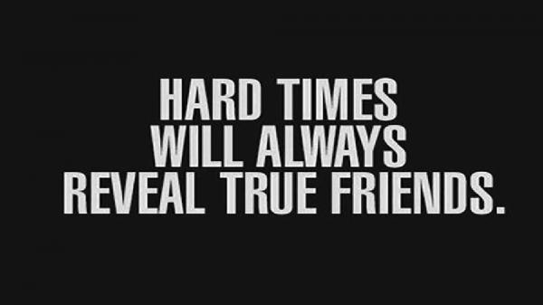 Helping A Friend Through Tough Times